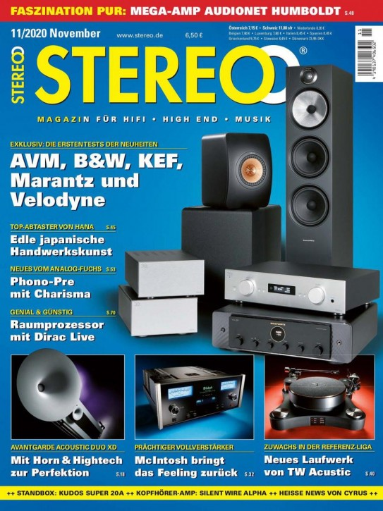 STEREO November 2020 gedruckte Ausgabe
