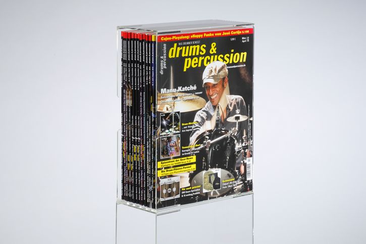 drums & percussion Acryl-Box ohne Gravur