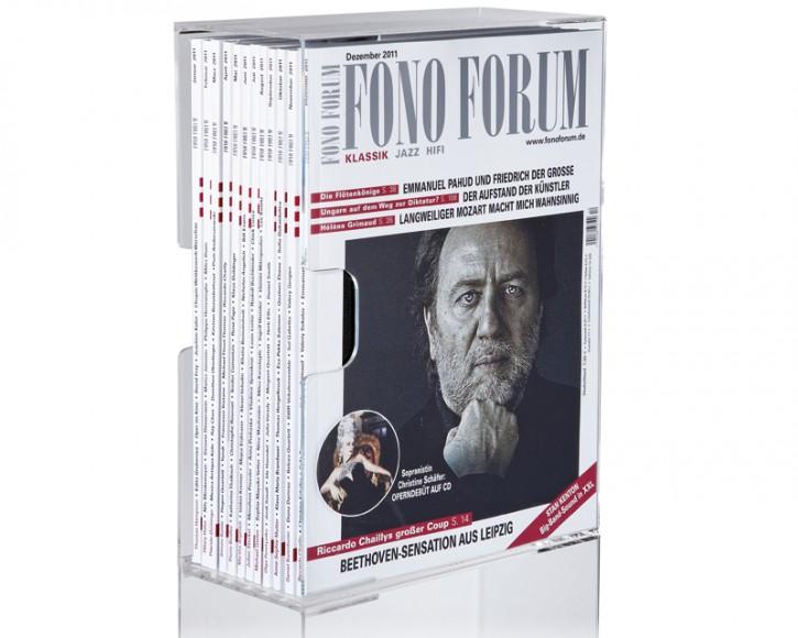 FONO FORUM Acrylbox ohne Gravur