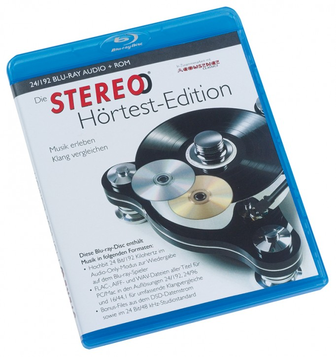 STEREO Hörtest-Edition Blu-ray-Audio