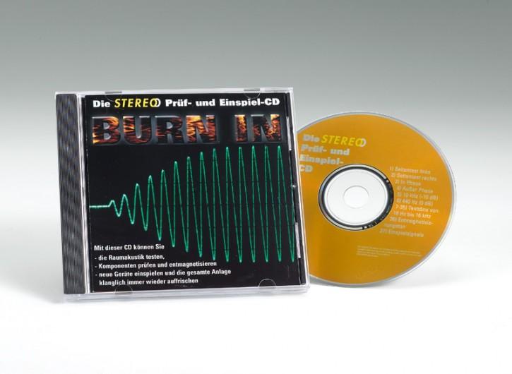 STEREO Prüf- und Einbrenn-CD