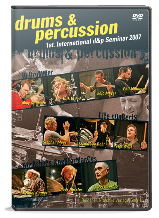 1st. International drums&percussion Seminar DVD 2007