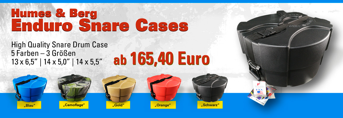 Humes & Berg Enduro Snare Cases