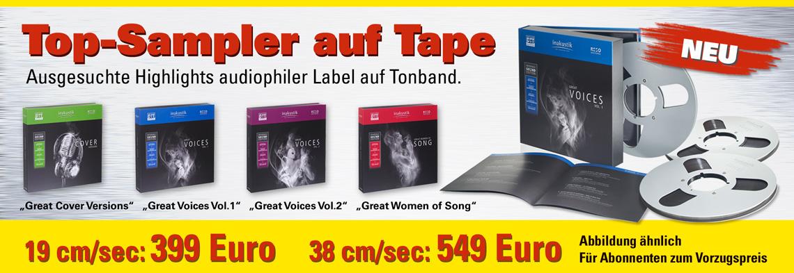 InAkustik Master-Tapes