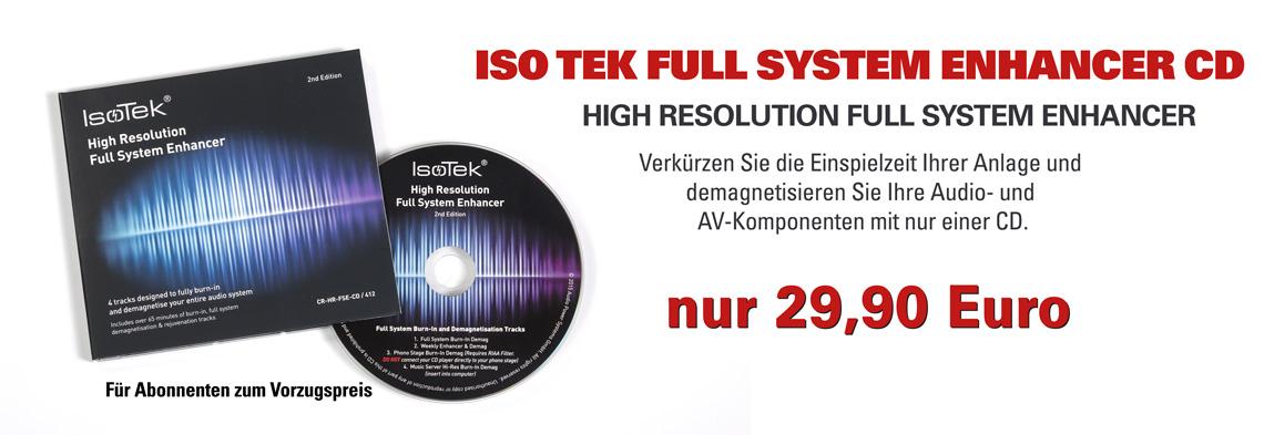 Iso Tek Full System Enhancer CD