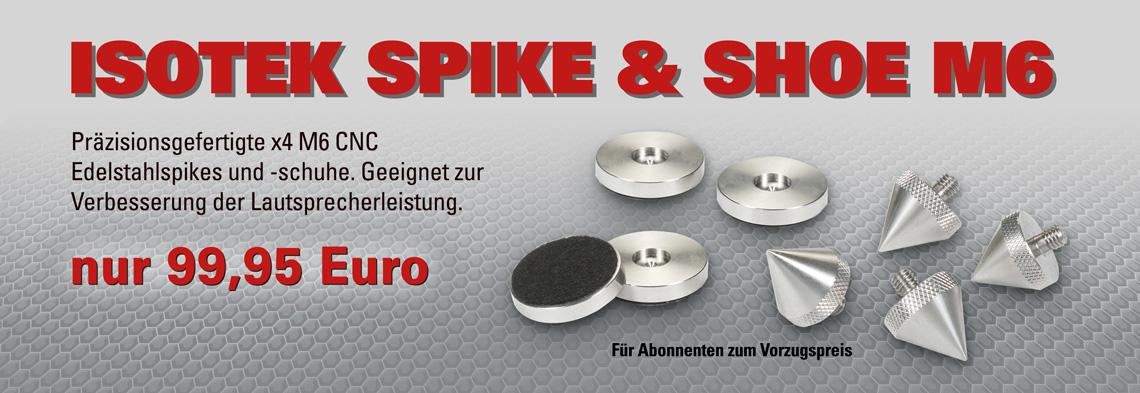 IsoTek Spike & Shoe M6